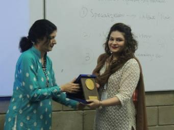 Award from IQRA University