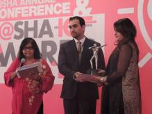 Receiving Awards for Systems Limited at P@sha Awards
